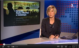 I Jornada Dades Obertes a TV3